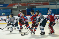 ブレイズはデミョンを上回るシュートを放つなど攻めたが、1得点に終わった/photo - Tohoku Ice Hockey Club