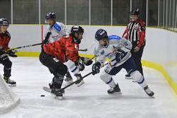 2得点を挙げたブレイズの大宮/photo - Tohoku Ice Hockey Club