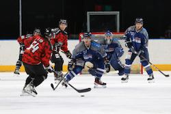 【八戸】今季、八戸では最初の試合となったブレイズとバックスのプレシーズンゲーム/photo - Tohoku Ice Hockey Club